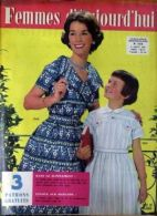 Femmes D'aujourd'hui N° 744 Du 06/08/1959 - - Mode
