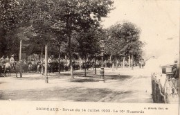 BORDEAUX REVUE DU 14 JUILLET 1903 3 E HUSSARD - Bordeaux