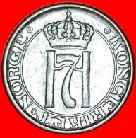 § 3 ROSES: NORWAY ★ 2 ORE 1950! LOW START ★ NO RESERVE! Haakon VII (1905-1957) - Norvegia