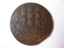 Hampshire Portsea. Halfpenny Token 1796. Navire, Poisson, Dragon - Pre-federal Issues