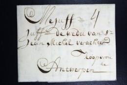 Complete Letter  1713  Haarlem To Antwerp - Niederlande