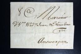 Complete Letter  1715 Amsterdam To Antwerp - Nederland