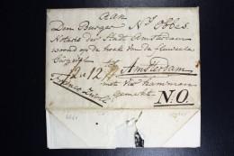 Complete Letter 1799  Franco Zwoll Naar Amsterdam Waszegel - Niederlande