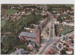 Grote Kaart Grobbendonk Luchtopname Centrum CIM-kaart A 81-88 Kempen - Grobbendonk