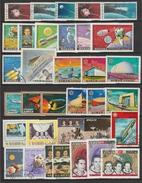 Espace Astronautes,Satellites Apollo,..Lot De Timbres Et Blocs  * Et Oblitérés - Space