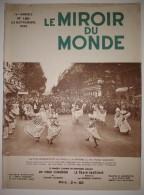 """Le Miroir Du Monde N°186 23/09/1933 Les Glorieux Crapouillots - Drague """"Pas De Calais II"""" - Missions Catholiques Corée - 1900 - 1949"""