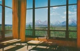 Wyoming Moran View From Jackson Lake Lodge - Yellowstone