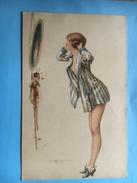 2.5267 Le Cabinet De Toilette Par A.Penot - Otros Ilustradores