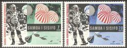 Samoa 1969 Mi# 204-205 ** MNH - Apollo 11 / Space