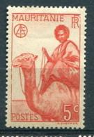 Mauritanie 1938 - YT 76* - Mauritanie (1906-1944)