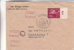 Allemagne - Empire - Lettre De 1944 - Oblitération Spéciale Dornbirn - Timbre Avec Chiffre - Cartas