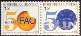 CROATIA  - HRVATSKA  - FAO - UN - Used  - 1995 - Croazia