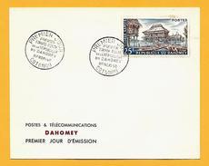 1706  ~  DAHOMET  3 FDC - Bénin – Dahomey (1960-...)