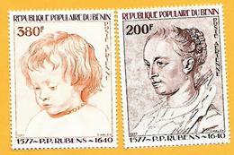 1710  ~  1976-77  BENIN  N°  PA 283 / 84**  NEUFS  TB - Bénin – Dahomey (1960-...)