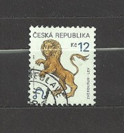 Czech Republic  Tschechische Republik  2001 Gest Mi 282 Sc 3072 Zodiac - Leo C.3 - Czech Republic