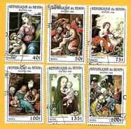 1715  ~  1980  BENIN  N° 710 Y / 710 AD  OBLIERES - Bénin – Dahomey (1960-...)