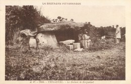 TREGASTEL DOLMEN DE KERGUNTUIL 29 - France