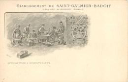 SAINT GALMIER ETABLISSEMENT BADOIT STERILISATION EMBOUTEILLAGE EAU DE SOURCE ILLUSTRATEUR 42 - Sin Clasificación