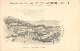SAINT GALMIER ETABLISSEMENT BADOIT EAU DE SOURCE ILLUSTRATEUR 42 - Sin Clasificación