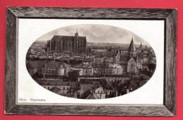 57. Metz. Panorama.  Photo  Ovale Plastifiée En Relief. 1911 - Metz