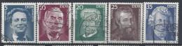 Germany (DDR) 1975  Personlichkeiten (o) Mi.2025-2029 - [6] Democratic Republic