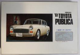 '61 Toyota Publica 1/32  ( ARII ) - Cars