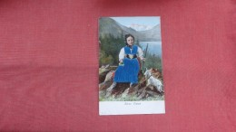 Silk Added -- Embossed----  Swiss Costum  --------  Ref 2336 - Fancy Cards