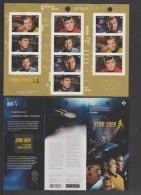 2016 Canada Star Trek 50th Anniversary Booklet Of 10 MNH - Cuadernillos Completos/libretas Completas