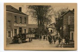 CPA  51  :  PORT A BINSON  Rue De La Gare Avec Camion Et Café   VOIR  DESCRIPTIF  §§§§ - Other Municipalities