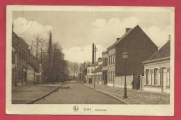 Lint - Dorpstraat ( 1 )  - 1933 ( Verso Zien ) - Lint