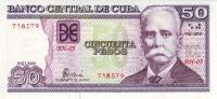 ***CUBA 50 PESOS 2008 Pick New - UNC - Cuba