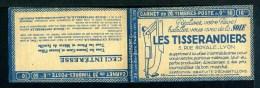 Couverture De Carnet Vide Série 170 Algérie - Les Tisserandiers Soie Lyon Lame Rasoir Leresche - Carnets
