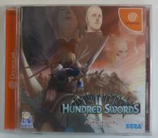 Dreamcast Japanese : Hundred Swords HDR-0124 - Sega
