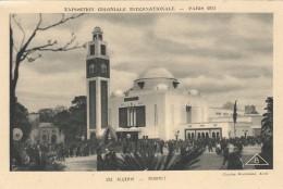 G , Cp , 75 , PARIS , Exposition Coloniale Internationale , 1931 , Algérie , Minaret - Expositions