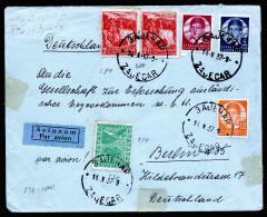 A4199) Jugoslawien Yugoslavia Luftpostbrief Von Zajecar 14.10.37 Nach Berlin - 1931-1941 Königreich Jugoslawien