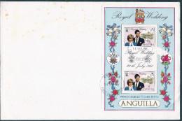 -1981- Royal Wedding- Prince Charles Lady Diana- - Anguilla (1968-...)