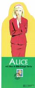 MP - Ed. HACHETTE - Alice Est Dans La Bibliothèque Verte - Marque-Pages