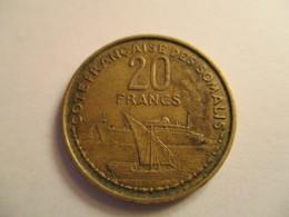 Côte Française Des Somalis 20 Francs 1952 - Djibouti