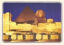 PH1220 - POSTAL - EGYPT - GIZA-SOUND AND LIGHT AT THE PYRAMIDS OF GIZA - Guiza