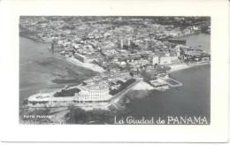 LA CIUDAD DE PANAMA - FOTO FLATAU CPA CIRCA 1930 DOS NON DIVISE UNCIRCULATED TBE RARISIME TOP CARTE - Panama