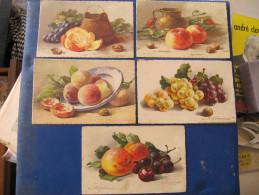CPA - FRUITS - Illustré Par KLEIN - Lot De 5 Cartes. - Klein, Catharina