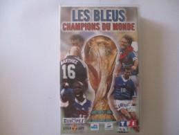 Cassette Video Les Bleus Champions Du Monde - Sport