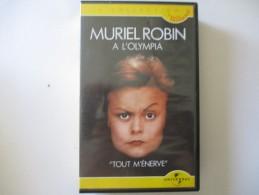 Cassette Video Muriel Robin A L'olympia - Enfants & Famille