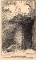 Carte Déssinée - Sur Le Seuil De Pétrarque - Dessin De J. Léon Mariaud - Postcards