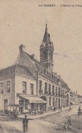 Feldpost WW1: Postcard La Bassee, L'Hotel De Ville From Reserve Feldlazarett A, 9. Reserve Korps P/m 2.1.1916 By IX. Res - Militaria