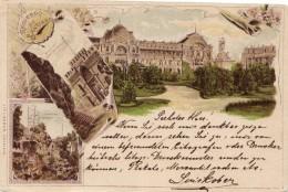 1898-gruss Da Santiago A Trieste - Cile