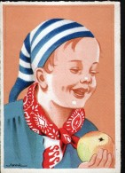 ILLUSTRATEUR JACK, COIFFES ET BONNETS ENFANTINS, LE BONNET DE COTON - Illustrators & Photographers