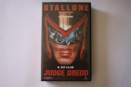 Cassette Video JUDGE DREDD - Action, Aventure