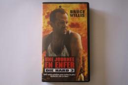 Cassette Video UNE JOURNEE EN ENFER - Action, Aventure