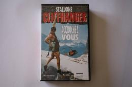 Cassette Video CLIFFANGER - Action, Aventure